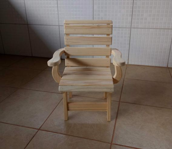 Cadeira Infantil Com Braço - Pinus - Unidade* Cod.04