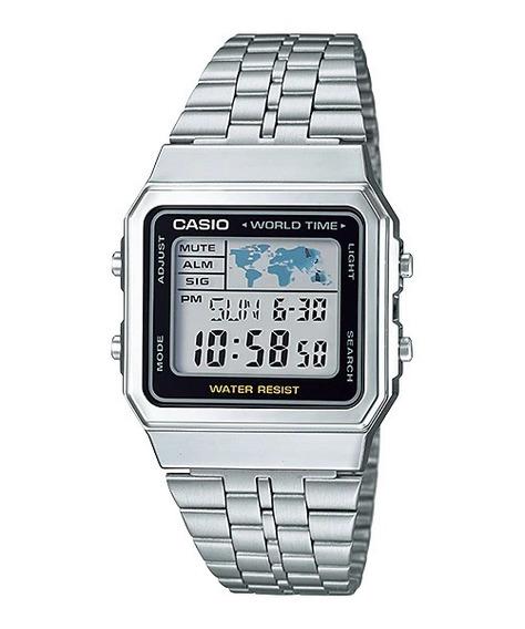 Relogio Casio Digital A500wa-1df - Prata