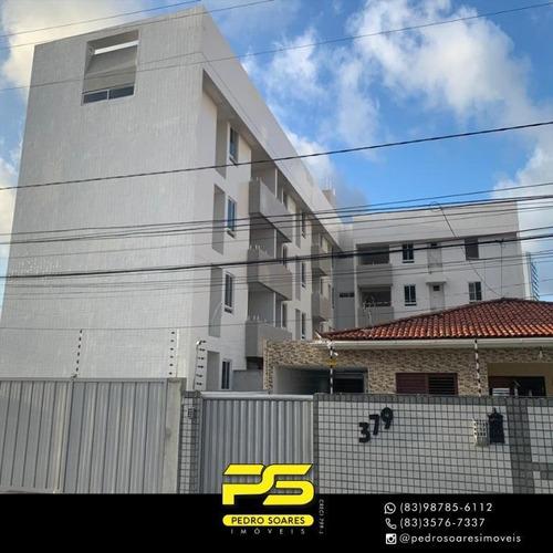 Apartamentos Em Localização Privilegiada À Venda, 67 M² Por R$ 225.000 - Estados - João Pessoa/pb - Ap3874