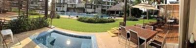 Cad Solar Villas Resort Villa 9-001 Terraza Con Jacuzzi, Asador, Deck Y Acceso A Jardines