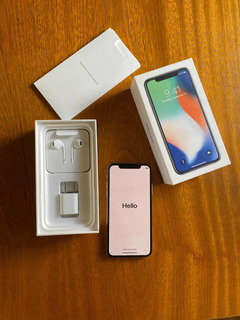Celular iPhone X, 256 Gb, Silver