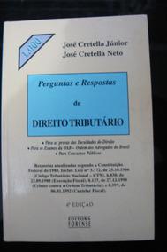 Perguntas E Respostas De Direito Tributário - José Cretella