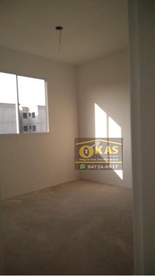 Apartamento Para Venda Em Suzano, Parque Santa Rosa, 2 Dormitórios, 1 Banheiro, 1 Vaga - Ap0442_1-1431852