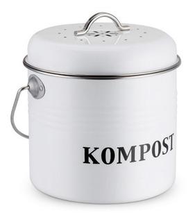 Compost De Cocina Casera Cubo De Basura Orgánica 5l Redondo