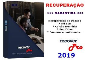 Recupere Todos Os Arquivos Apagados Hd Pen Drive M. Card +++