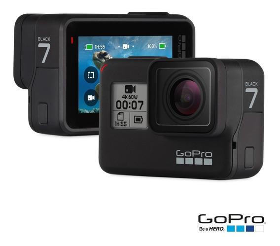 Camera Gopro Hero 7 Black Lacrado + Bateria Orig. Adicional