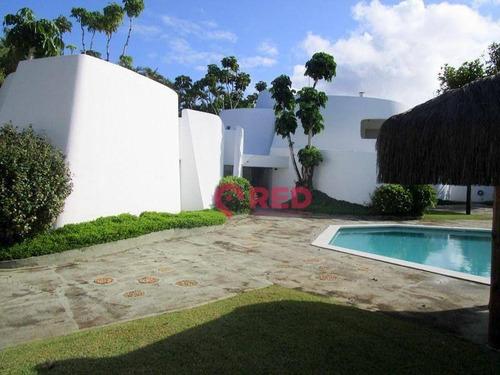 Sobrado Com 7 Dormitórios À Venda, 502 M² Por R$ 2.100.000 - Acapulco - Guarujá/sp - So0468