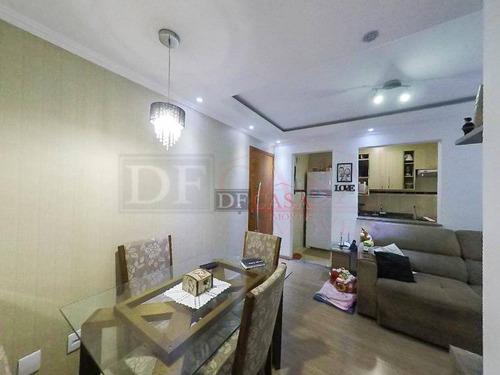 Apartamento Com 2 Dormitórios À Venda, 49 M² Por R$ 200.000,00 - Jardim São Miguel - Ferraz De Vasconcelos/sp - Ap3936