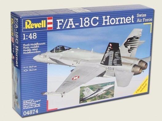 F/a-18c Hornet Swiss Air Force 1/48 Marca Revell