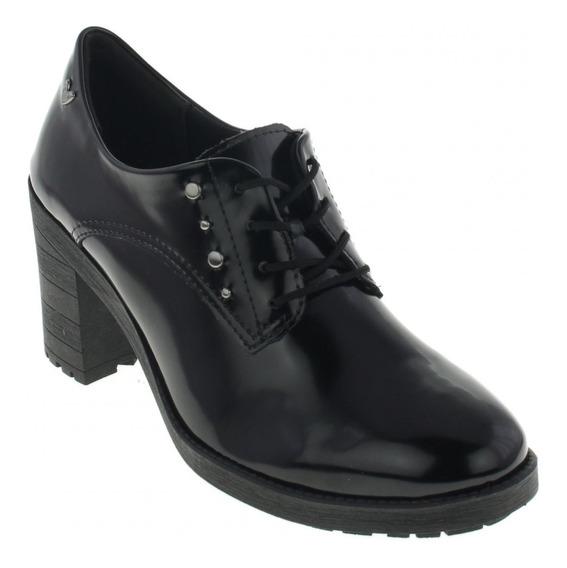 Sapato Mississipi Oxford Salto Medio Confortável X8101