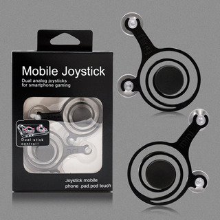 Mini Joystick Analogico Dual Para Celular O Tablet C/ Funda