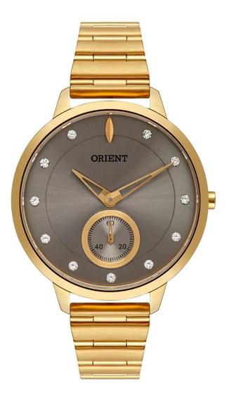 Relógio Orient Feminino Ref: Fgss0143 I1kx Fashion Dourado