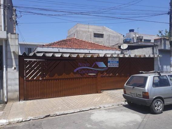 Casa Com 1 Dormitório Para Alugar, 30 M² Por R$ 650/mês - Jardim Santa Bárbara - São Paulo/sp - Ca0064