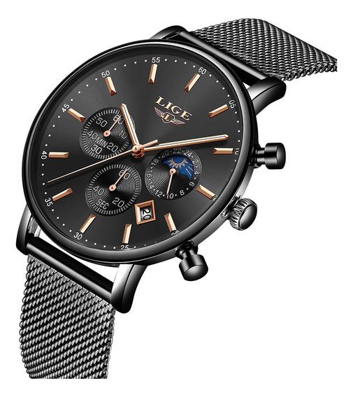 Reloj Lige 9894 De Cuarzo Para Hombres