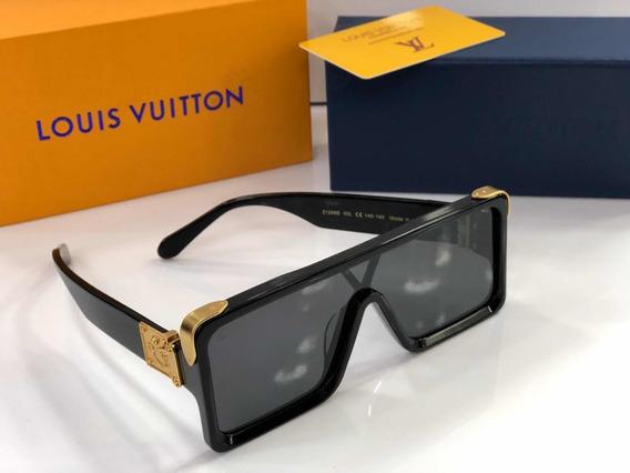 Óculos De Sol Millionaires Máscara Lv Preto