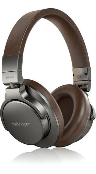 Fone De Estúdio Behringer Bh 470 Headphone Fechado Dobrável