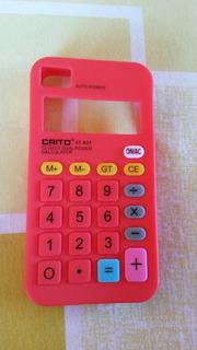 Capinha Modelo Calculadora Para iPhone 4s