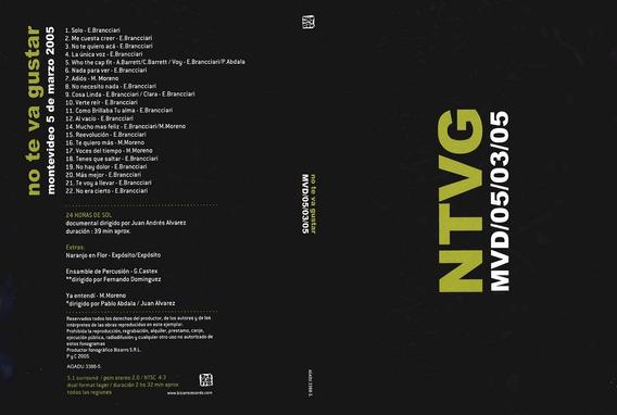 Dvd No Te Va Gustar Mvd 05/03/05 Nuevo Sellado Open Music Sy