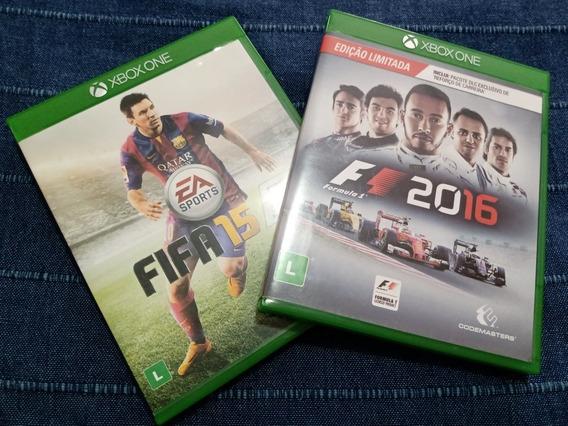 Jogos Xbox One F1 2016 E Fifa 15 Mídia Física