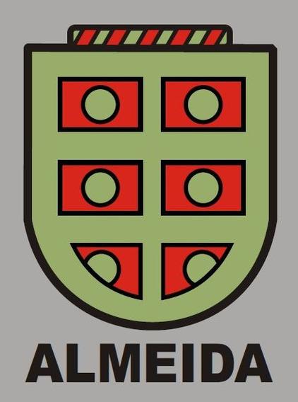 Brasão De Familia Almeida Em Pdf - Arquivo Para Imprimir