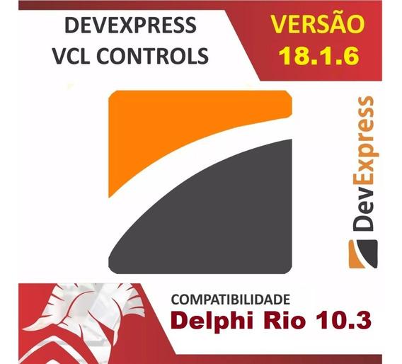Devexpress Vcl 18.1.6 Para Delphi 10.3 Rio Fonte Completo