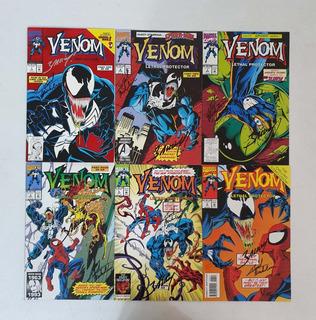 Venom Protector Letal Inglés Firmada Bagley Michelinie