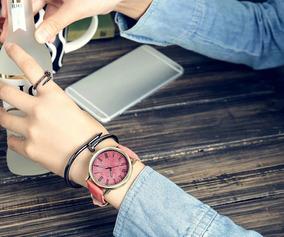 Relógio Feminino Casual Jeans Bonito