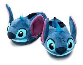 Pantufa Stitch 3d Sola Borracha Lançamento Ricsen