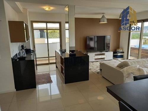 Cobertura Com 3 Dormitórios À Venda, 209 M² Por R$ 2.300.000,00 - João Paulo - Florianópolis/sc - Co0341
