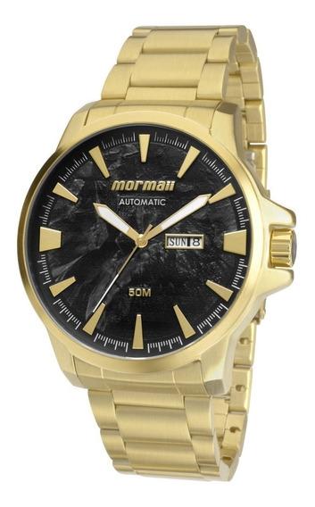 Relógio Mormaii Automático Dourado Mo8205aa/4p Original