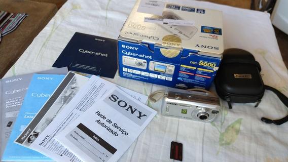 Câmera Sony Dsc-s600 - Não Liga