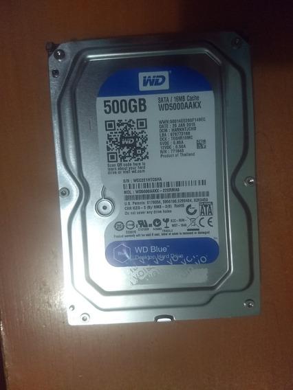 Disco Duro 500gb Western Digital Sata 3 16 Mb Cache 3.5