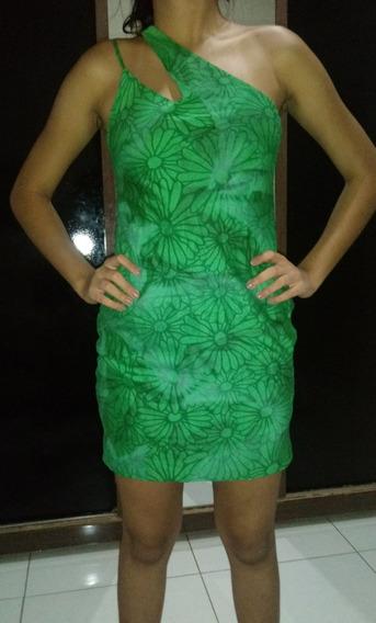Vestido De Festa Curto Verde