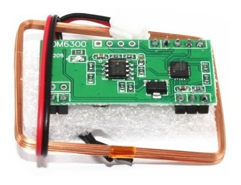 Módulo Rfid 125khz Rdm6300 Uart Ttl Rs232 - Arduino
