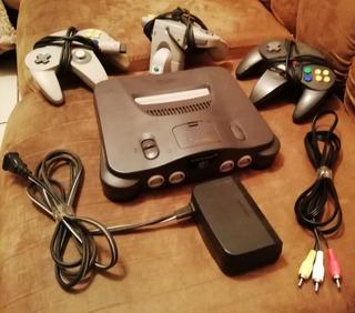 Oportunidad Y Ganga! Nintendo 64 + 4 Juegos + 1 Rumblepack