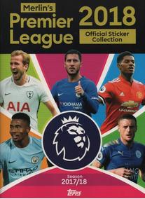 Premier League Topps 2018 Album Completo Figurinhas Colar