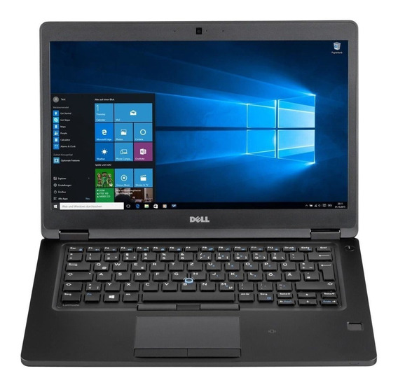 Notebook Dell Latitude 5480 I5-7300u 8gb Ddr4 Ssd 128gb Fhd
