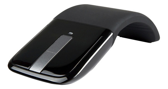 Mouse Sem Fio Microsoft Wireless Touch Bluetooth Preto
