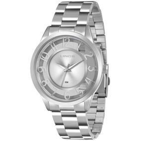 Relógio Feminino Lince Analógico Lrm4347l S2sx Aço