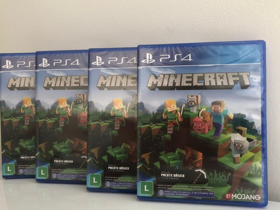 Minecraft Ps4 Edition Mídia Física Lacrado Promoção