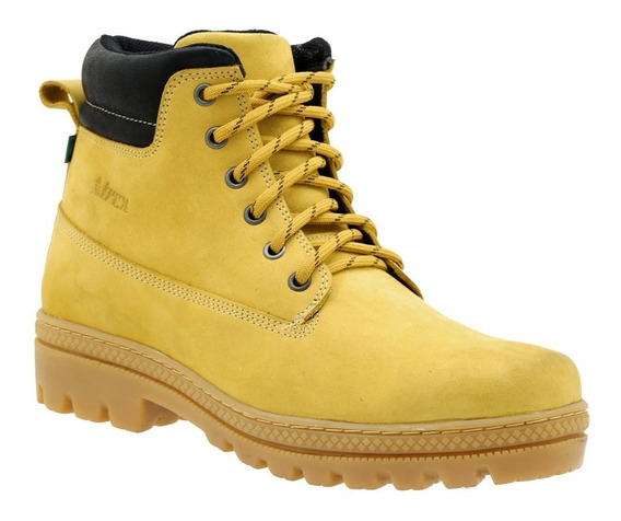 Coturno Yellow Boot Atron Shoes