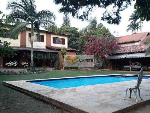 Chácara Com 5 Dormitórios À Venda, 1 M² Por R$ 1.350.000,00 - Chácaras São Bento - Valinhos/sp - Ch0109