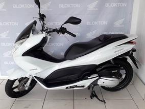 Honda Pcx 150 2015 Branca Gasolina