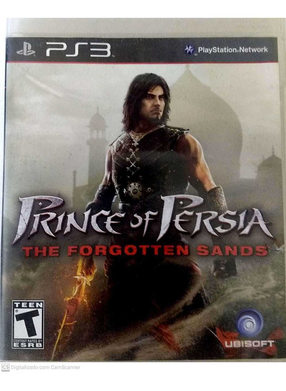 Prince Of Persia: Forgotten Sands - Ps3 - Midia Fisica