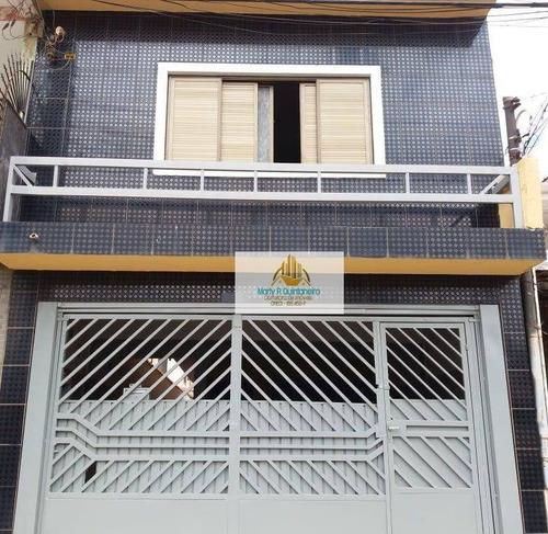 Imagem 1 de 21 de Sobrado Com 3 Dormitórios À Venda, 130 M² Por R$ 420.000 - Cidade Soberana - Guarulhos/sp - So0069