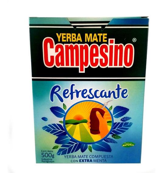 Yerba Mate Campesino Refrescante 3 Kilos