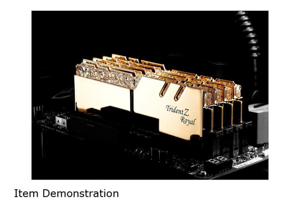 Memoria G.skill Tridentz Rgb 16gb (2x8gb)ddr4 3200mhz Royal