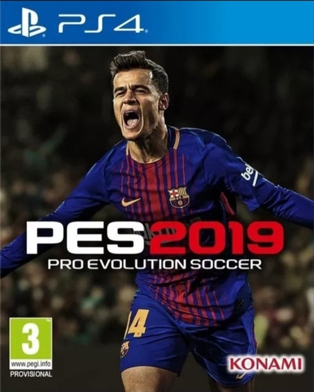 Pes 19 Ps4 Pro Evolution Soccer 19 Jogo Permanente