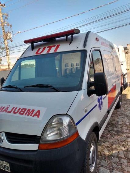 Reanault Master Ambulancia Uti Ar Ambulancia Uti Ar