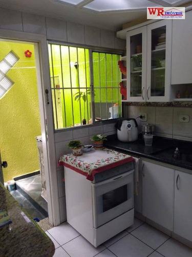 Imagem 1 de 18 de Sobrado À Venda, 64 M² Por R$ 395.000,00 - Vila Jerusalém - São Bernardo Do Campo/sp - So0730